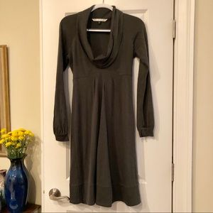 Diane von furstenberg Wool Cowl Neck Dress Sz 4